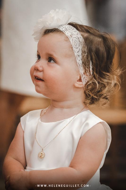 Photographie de baptême. © Hélène Guillet