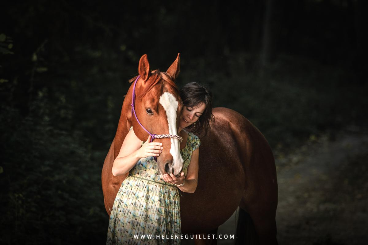Photo cheval cavalier © Hélène Guillet