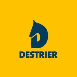 Logo Destrier Client Hélène Guillet