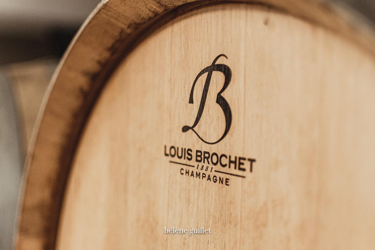 Tonneau Champagne Louis Brochet