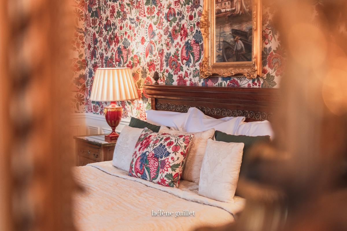 Chambre Domaine Les Crayères Reims Helene Guillet Photographe