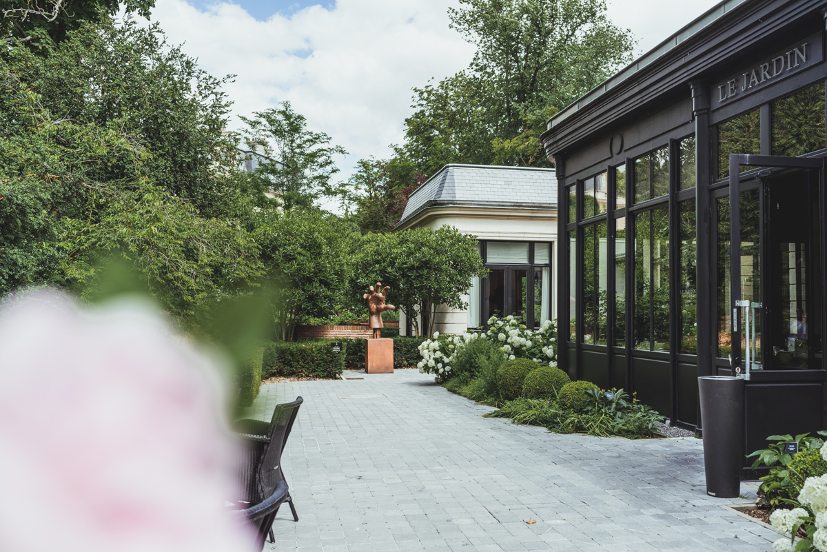 Terrasse Jardin Les Crayères